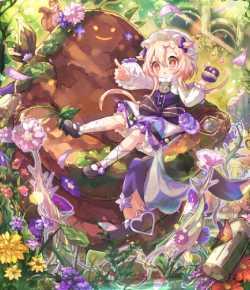 泥傀儡の花姫ニュンプゥ