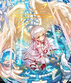 暁光の聖女_ミシェリアの全体絵