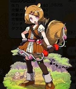 膨尾の弓士ララ
