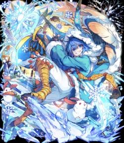 孤狼の蒼氷兎ネロ(コラボ)