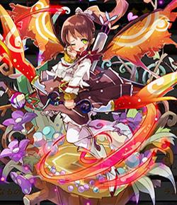 爛漫な蝶妖精チュール