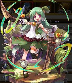 緑紗の花嫁_リイリの全体絵