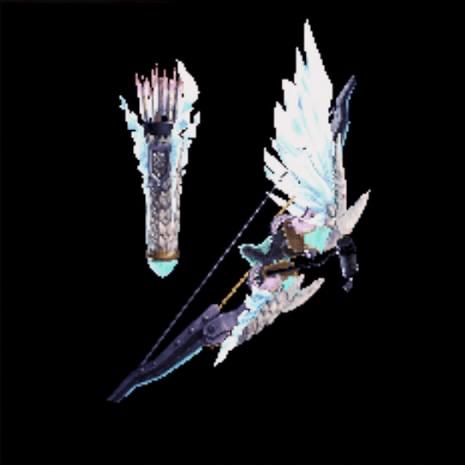 魂焔の龍弓・冥灯