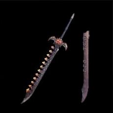 爆鱗刀バゼルバルガー