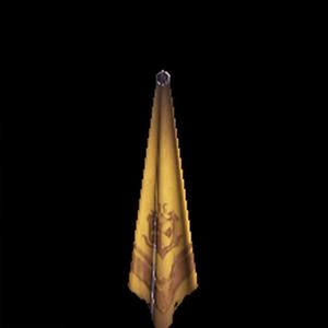 銅章のスカーフ・黄