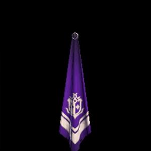 銀章のスカーフ・紫