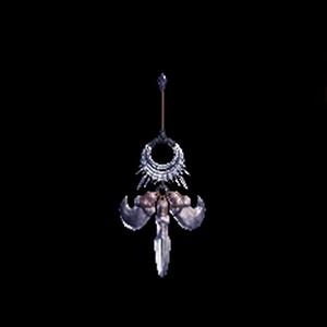 強者の爪飾り【銀火竜】