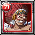 達人 シャンディアの戦士(赤)