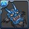 蒼色の鬼神面のアイコン