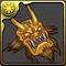 黄金の鬼神面のアイコン