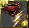 スーパーマンエンブレムのアイコン