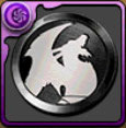 イベントメダル黒の画像
