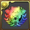 パズドラ学園の園章【虹】のアイコン