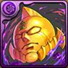 黄金のマスクのアイコン