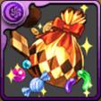 ハロウィンのお菓子袋【金】