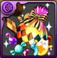 ハロウィンのお菓子袋【虹】
