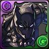 ブラックパンサーのアイコン