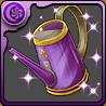 紫のジョウロ