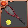 越前のテニスラケットのアイコン