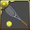 幸村のテニスラケットのアイコン