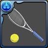 手塚のテニスラケットのアイコン