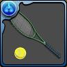 忍足のテニスラケットのアイコン