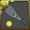 千石のテニスラケットのアイコン