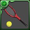 遠山のテニスラケットのアイコン