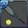 乾のテニスラケットのアイコン