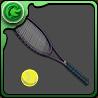 仁王のテニスラケットのアイコン