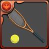 丸井のテニスラケットのアイコン
