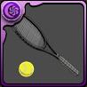 田仁志のテニスラケットのアイコン
