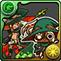 緑オーディンネコのアイコン