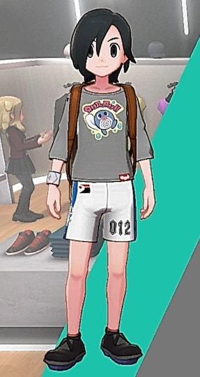 バスクシャツ-おたまプリント男