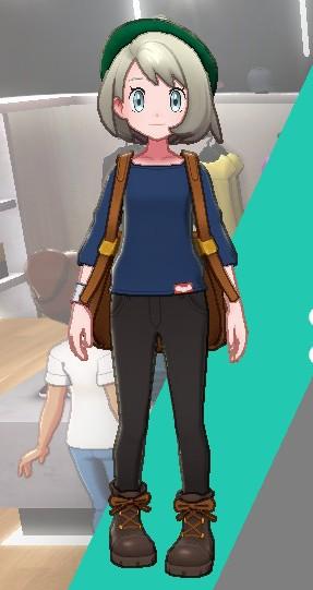 バスクシャツ-ネイビー女