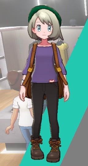 バスクシャツ-パープル女
