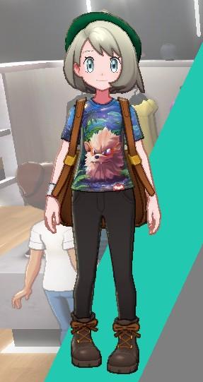 Tシャツ-ウィンディ女