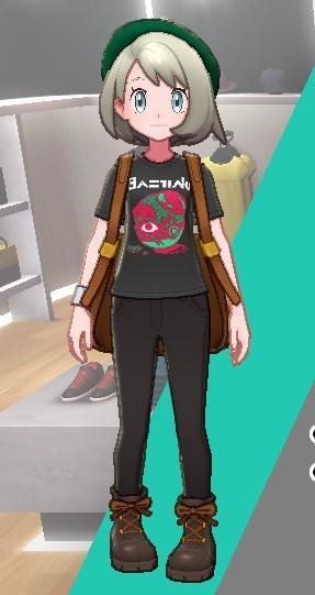 Tシャツ-こわいかお女