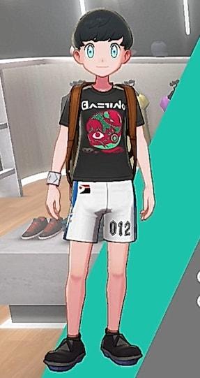 Tシャツ-こわいかお男