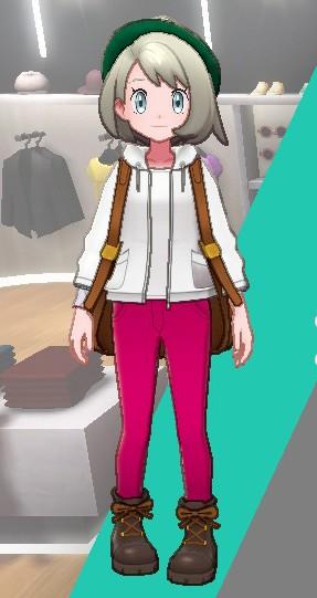 スキニーパンツ-ピンク女