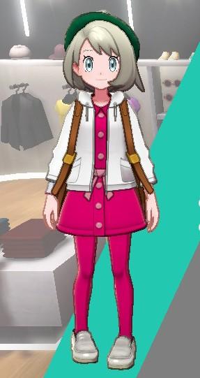 タイツ-ピンク女