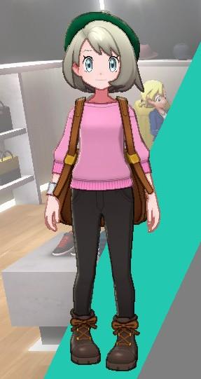 まるくびスエット-ピンク女