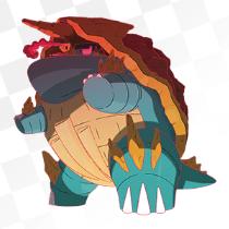 カジリガメ(キョダイマックスのすがた)のアイコン