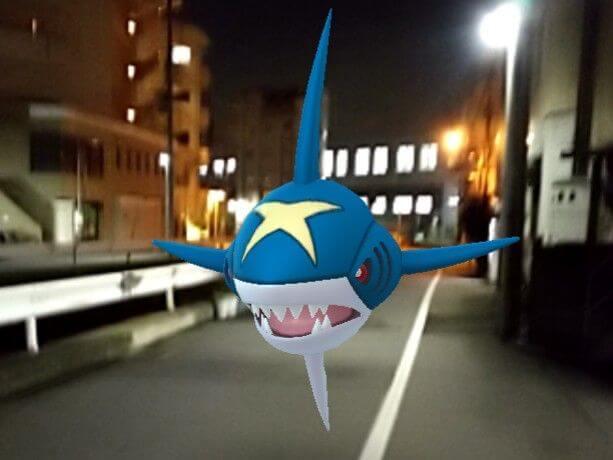 サメハダーのAR画像