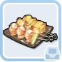 食神クラウン・串焼き