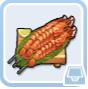 食神クラウン・魚介の串焼き