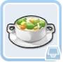 食神クラウン・野菜スープ