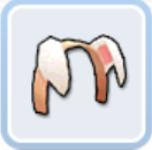 子犬のヘアバンド