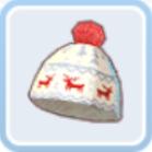 トナカイのニット帽