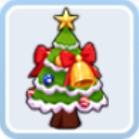 温かなクリスマスツリー